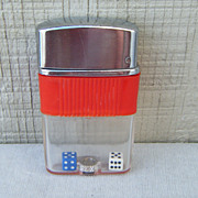 Globe See-O-Matic Floating Dice Lighter Japan