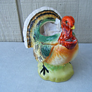 Colorful Porcelain Turkey Gravy Pourer