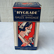 Military Hygrade Sanitary Gauze Bandage in Box