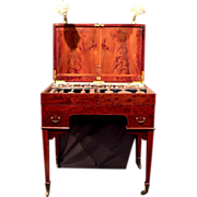 Fabulous Signed Folding Dressing Table Vanity