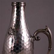 Rare Aesthetic Movement Silver Wine Server