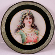 Rare, Aesthetic Movement Flue Cover Orientalist