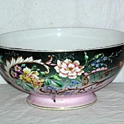 Mid 19th Century, Centerpiece Pedestal  Punch Bowl