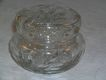 American Brilliant Glass Round Dresser Box