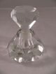 Large Crystal Perfume Bottle