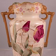 Handsome English Aesthetic Movement Vase