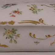 Small Limoge Covered Dresser Box