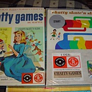 1962 Charmin Chatty Cathy Game *NRFB ~Mint~