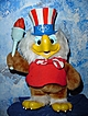 1980 Olympic Eagle Mascot