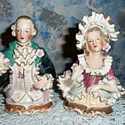 Beautiful Pair of Louis XIV Figurines