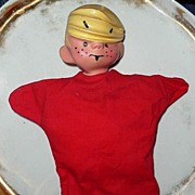 1950's Dennis The Menace Hand Puppet