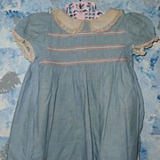 Vintage 'Nannette'  Dress for 1950's-1960's Tall Toddler Doll