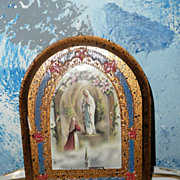 Our Lady of Fatima Hand-Made Wall Plaque