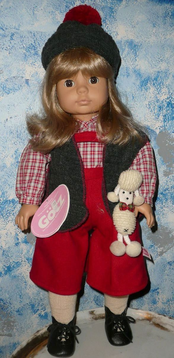 1996 Gotz Pampolina Doll with Dog *NIB