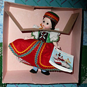 1984  Madame Alexander 8&quot; Doll #564 &quot;Czechoslovakia&quot;