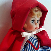 Vintage Madame Alexander Little Red Riding Hood #782