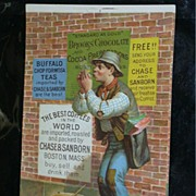Chase & Sanborn Coffee Trade Card c.1886 w/Coffeemaking Info