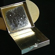 Vintage Reed & Barton Small Box with Mirrored Lid