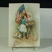 Antique Patriotic Ephemera �To The Front� C. 1880-1910