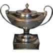 Fine 18th c. - circa 1790 - Old Sheffield Silver on Copper Tea Urn - Golf Trophy 1931
