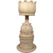 19th c. Carved Ivory Stand