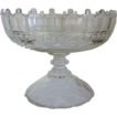 Fine Antique 19th century Anglo Irish Cut Glass Compote