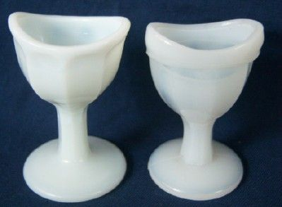 Milk Glass Eye Wash Cups