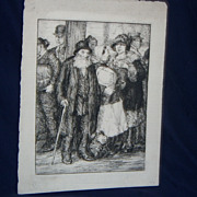 George Renouard Etching