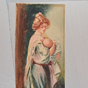 Maud Stumm Vintage Lithograph