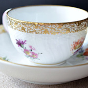 SALE KPM Porcelain Cup & Saucer