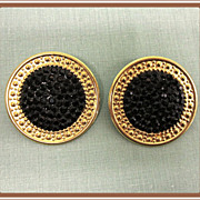 1980's Designer Earrings Richard Kerr