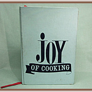 1971 Joy of Cooking Cookbook
