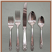 SALE Distinction Silverplate Flatware 52 Pieces Oneida Prestige