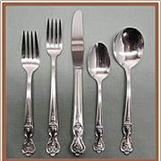 SALE Magnolia aka Inspiration Silverplate Flatware Set