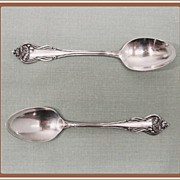 Nenuphar Silverplate Demitasse Spoons International