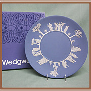 Wedgwood Blue Jasperware Plate