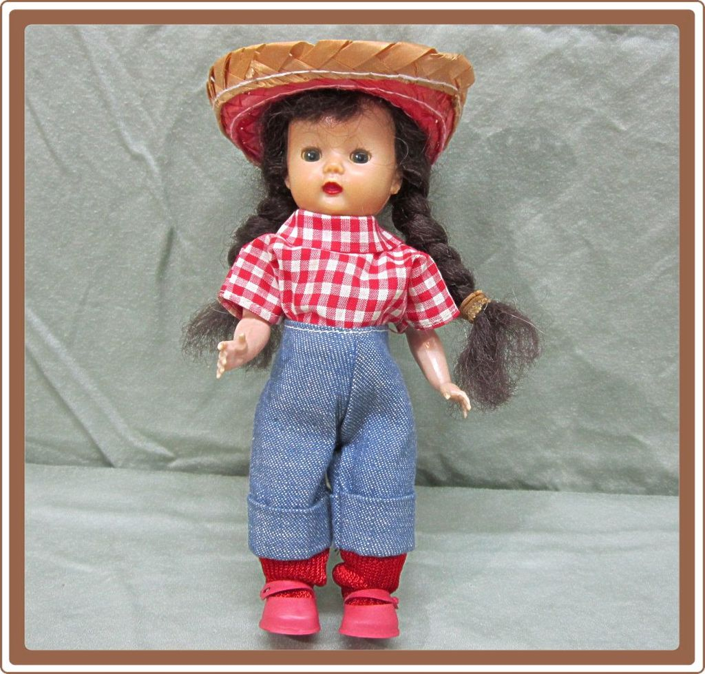Nancy Ann Muffie Hard Plastic Doll