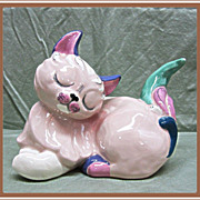 SALE Large Kay Finch Pottery Kitty Cat Jezebel