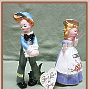 SALE PENDING Josef Originals First Love Pair Tina and Toni