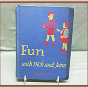 SOLD 1940's Fun With Dick and Jane School Reader Teacher's Edition