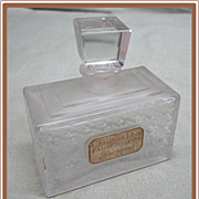 Christian Dior Diorama Perfume Bottle