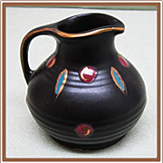 SALE Gouda Pottery Zwaro Small Pitcher