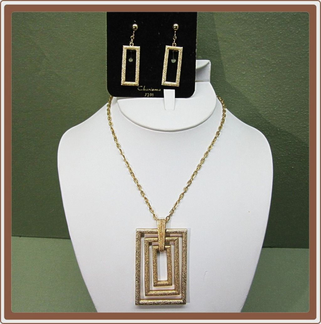 Modernist Charisma Jewelry Set Sarah Coventry
