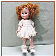 SALE Ginny Vogue Bent Knee Walker Doll 1950's