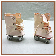 Oilcloth Dolly Roller Skates High Top