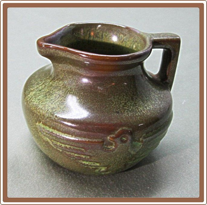 Frankoma Mini Thunderbird Jug Prairie Green No 555