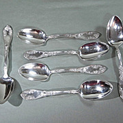Wm Rogers La Concorde Silverplate Spoons Grape Pattern