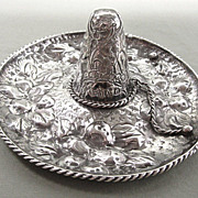 Sterling Silver Sombrero Casa Prieto Large and Ornate