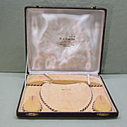 Kashmir Jewelry Parure Presentation Display Box