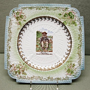 Chief Moses Porcelain Plate Souvenir of North Yakima Washington